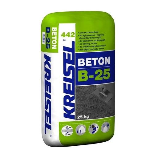 Zaprawa cementowa Beton B-25 Kreisel 442 25 kg, podkład podłogowy, 10-80 mm