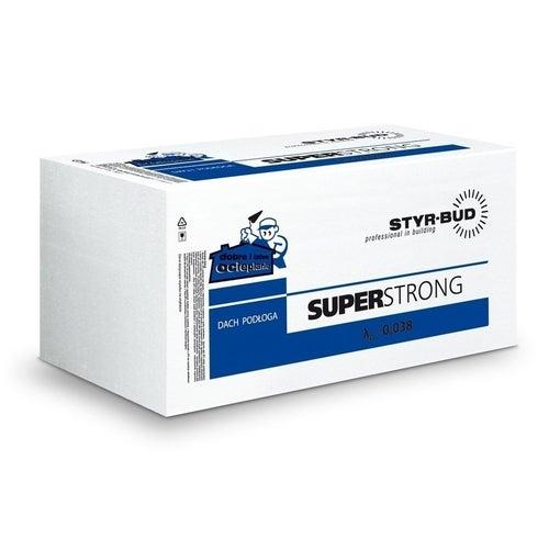 Styr-bud styropian podłogowy EPS80 grubość 3cm 0.3m3