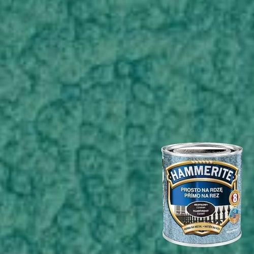 Farba antykorozyja Hammerite zielony młotkowy 0,7l
