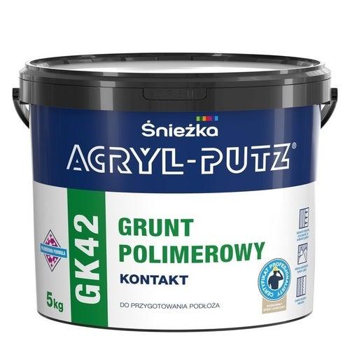Grunt polimerowy Śnieżka Acryl Purz GK42 5kg