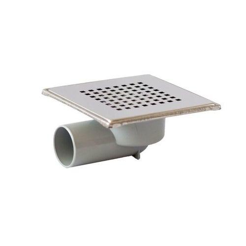 Kratka ściekowa boczna fi 50 mm metalowa