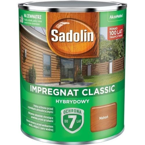 Impregnat hybrydowy Sadolin Classic mahoń 0,75l