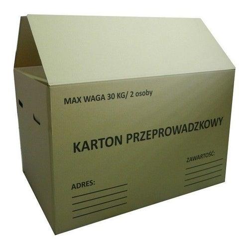 Karton tekturowy 80x60x50 cm