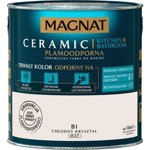 Farba Magnat Ceramic Kitchen&Bathroom chłodny kryształ 2,5l