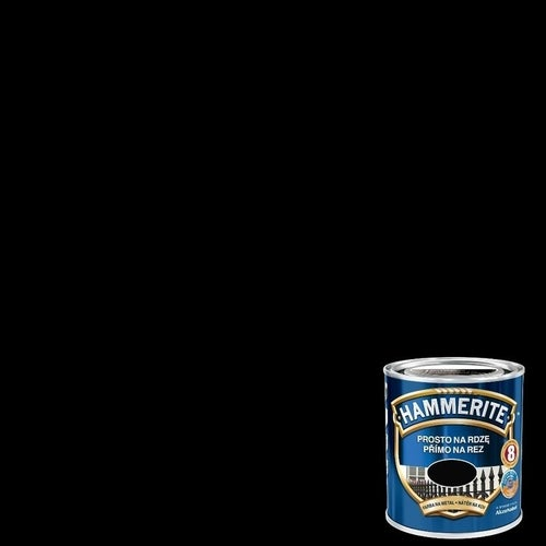 Farba antykorozyja Hammerite czarny połysk 0,25l