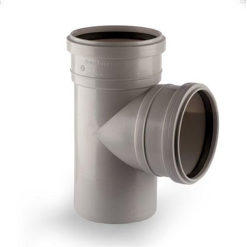 Trójnik kanalizacyjny 90° 75 mm