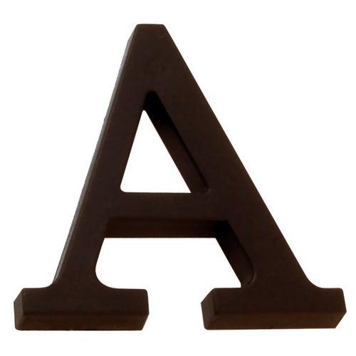 Litera A przybijana brąz 90 mm