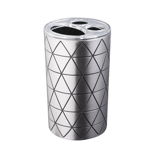 Pojemnik na szczoteczki Star srebrny