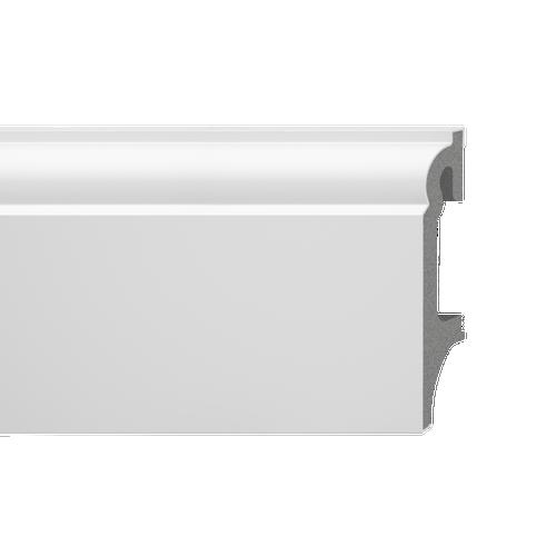 Listwa przypodłogowa Espumo 301 2500x80x16 biała