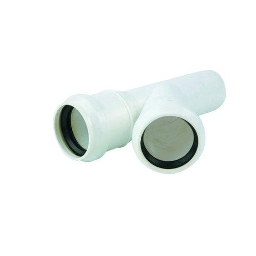 Trójnik kanalizacyjny 45° 32 mm z uszczelką