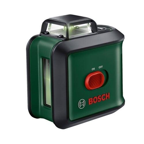 Laser krzyżowy zielony Universal Level 360 Bosch + statyw TT 150