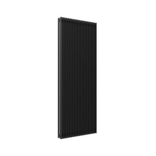 Grzejnik dekoracyjny Mab X 180x70 cm, czarny matowy