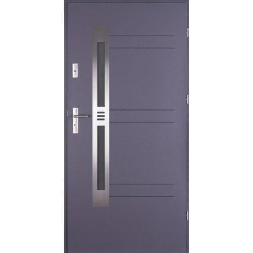 Drzwi wejściowe Alicante 90 cm, prawe, antracyt