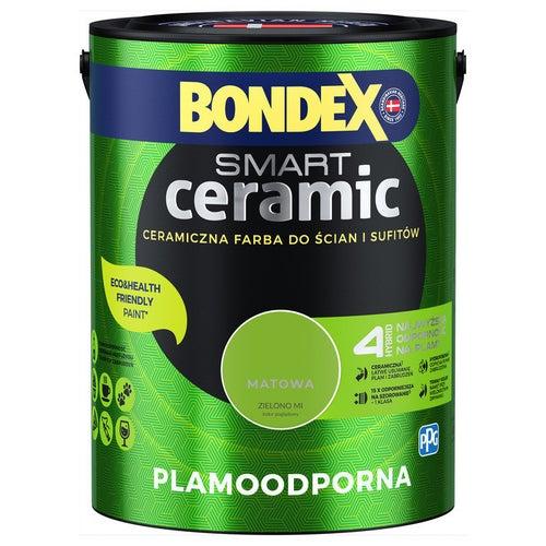 Farba Bondex Smart Ceramic zielono mi 5l