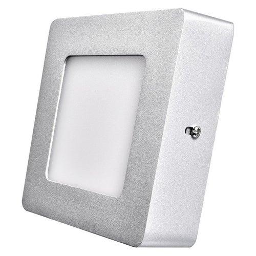 Oprawa sufitowa LED 6W 450lm 4000K IP20 srebrna