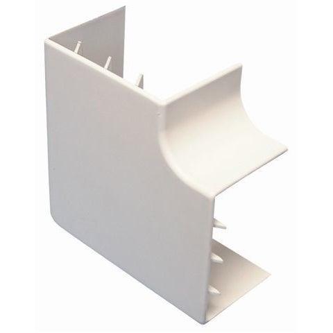 Łącznik kątowy LK 18x50mm UV biały