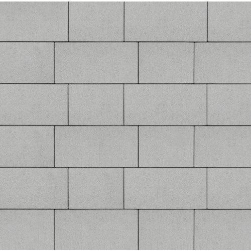 Kostka brukowa Certus System 15 jasnoszary gr. 6 cm gładka wym.15x20 / 15x30 cm, 9,6 m2/pal