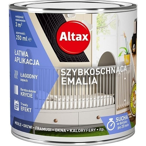 Emalia Altax Szybkoschnąca dąb 0,25l