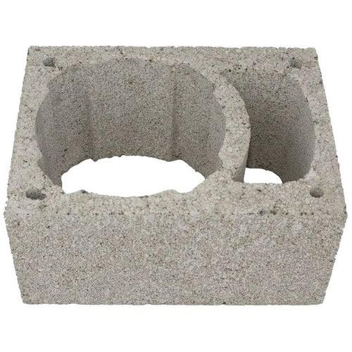 Pustak kominowy keramzytowo betonowy Techniko, wym. 49x26x24 cm