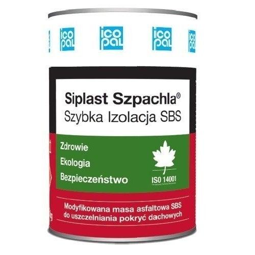 Masa kauczukowo-bitumiczna SBS Icopal Siplast Szpachla 5 kg