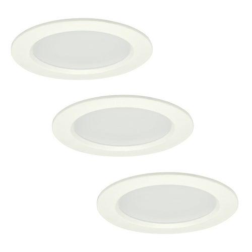 Zestaw oczek sufitowych MIRO LED 6W, 400lm, 3000K, IP44 białe