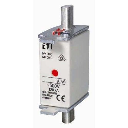 Wkładka topikowa WT-00 C gG 25A zwłoczna ETI