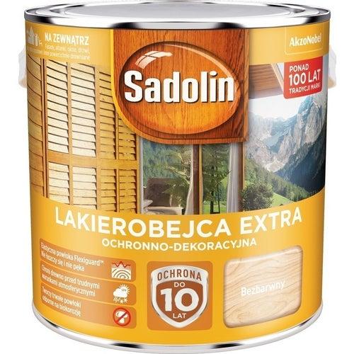 Lakierobejca Sadolin Extra bezbarwny 2,5l
