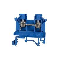 Złączka szynowa ZSG 4 0,5-4mm2 TS 32, 35 niebieska