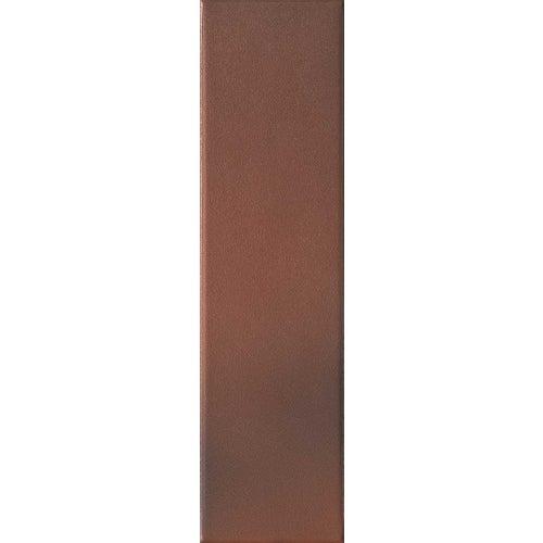 Płytka elewacyjna Country, ciemnoczerwony, 24.5x6.5 cm, opak. 0.5m2, klinkier