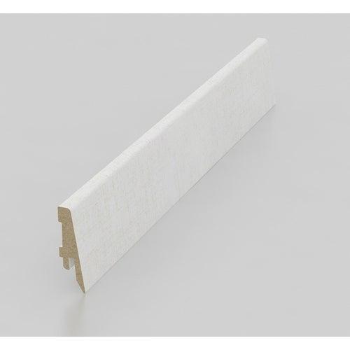 Listwa przypodłogowa LK70C 2600x70x18mm biała
