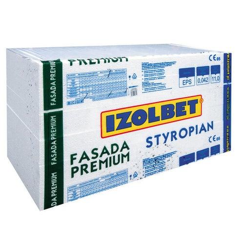 Styropian Izolbet Fasada Premium 10 cm EPS 0,042 W/(mK) 3 m2