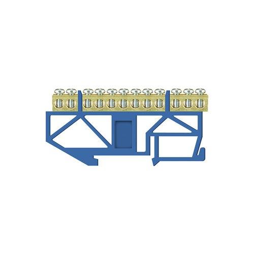 Listwa zaciskowa LZ 12 niebieska TH35 E.4045 Pawbol