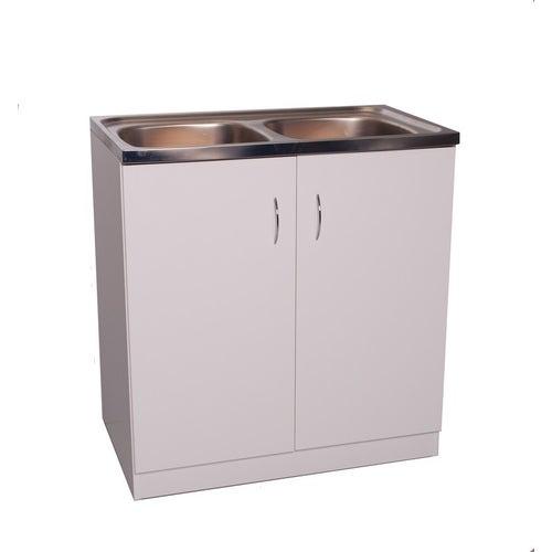Szafka kuchenna Biała 80x50 cm do samodzielnego montażu