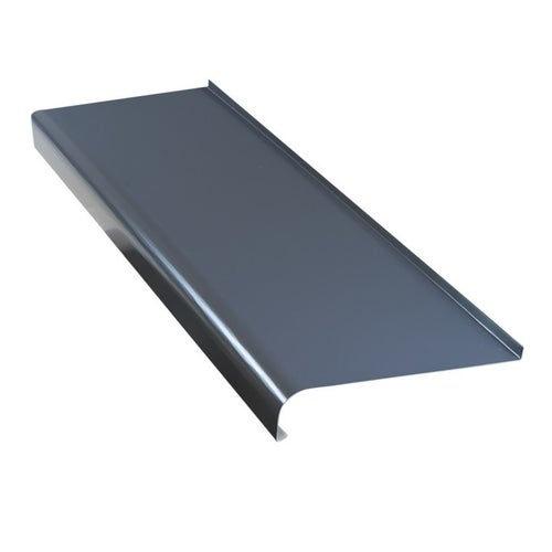 Parapet zewnętrzny stalowy grafit 25x200cm