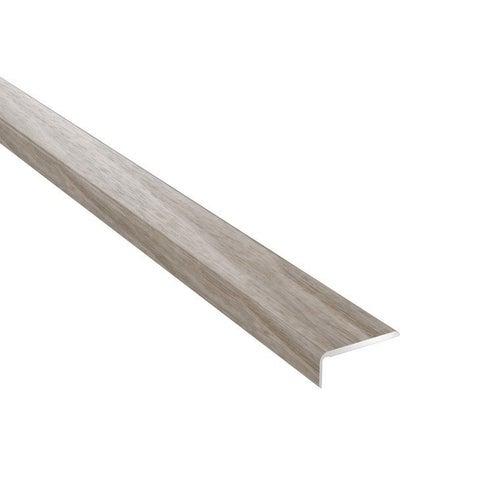 Profil podłogowy CS25 zakończeniowy 1200x25x10 aluminiowy dąb corona