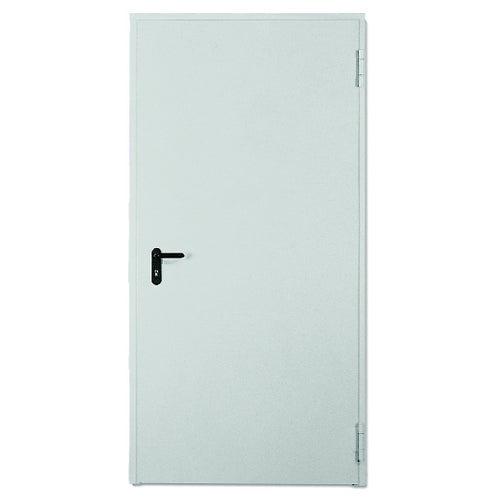 Drzwi przeciwpożarowe Ei60 80 cm, odporność ogniowa 60 minut, zbliżony do białego