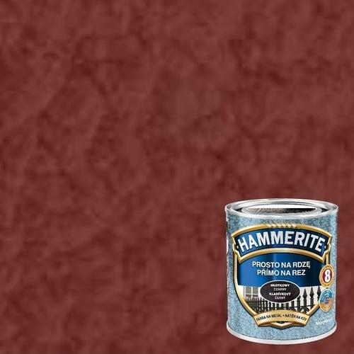 Farba antykorozyja Hammerite czerwony tlenkowy młotkowy 0,7l