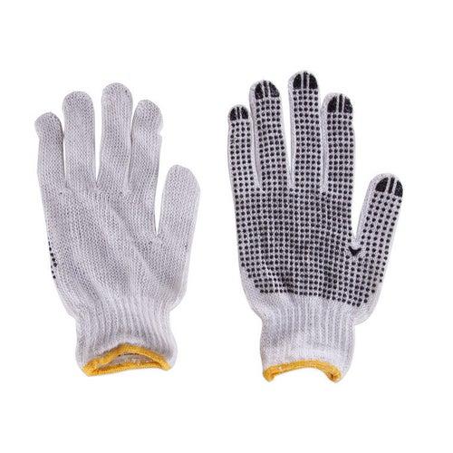 Rękawice z poliestru i bawełny RDZN, rozm. 10 (XL)