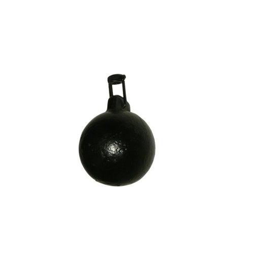 Kula kominowa 1.3 kg malowana czarna