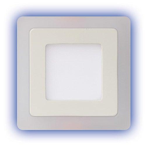 Oczko sufitowe Alina LED 3W 270lm 4000K+3W niebieski