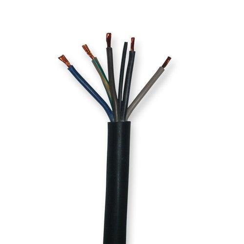 Przewód H05VV-F  (OWY) 5x4 1m