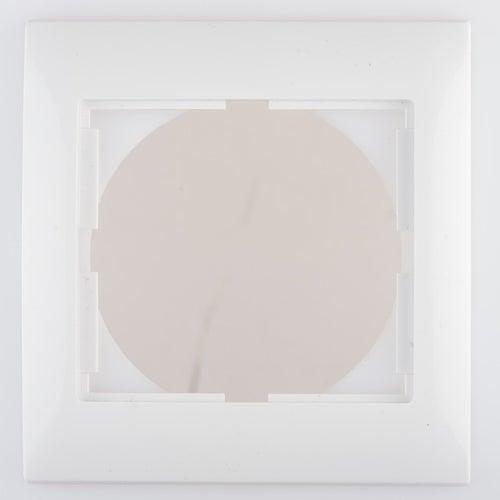 Polmark Sigma biały ramka pojedyncza