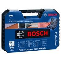 Zestaw wierteł V-Line Bosch 103 szt.