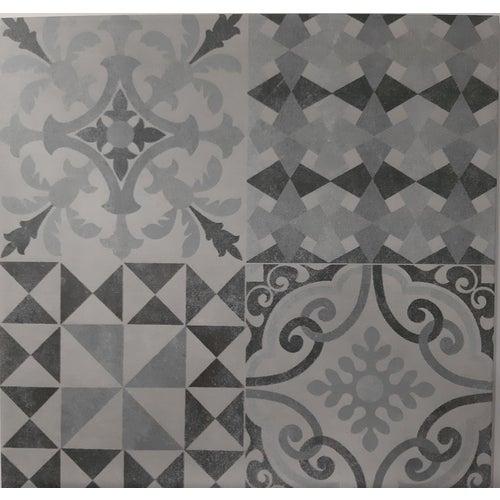 Gres szkliwiony Walk Patch Soft Grey 33.33x33.33 cm 1.55m2