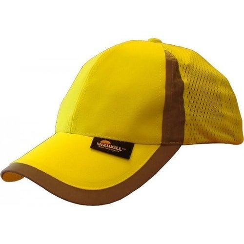 Czapka z daszkiem żółta ostrzegawcza Beta