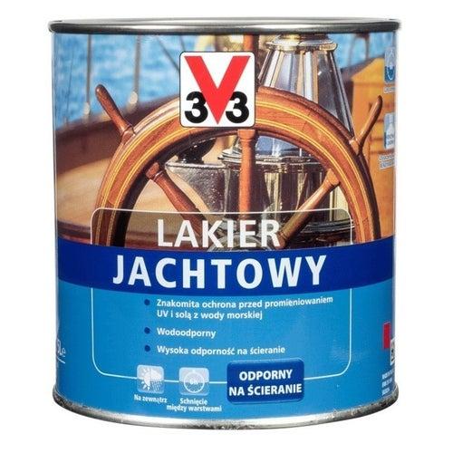 Lakier jachtowy V33 bezbarwny 0,75l