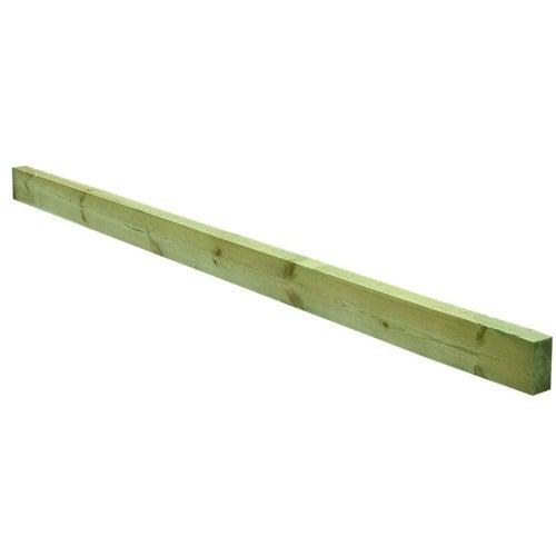 Krawędziak sosna impregnowana 70x140 mm długość 4 m