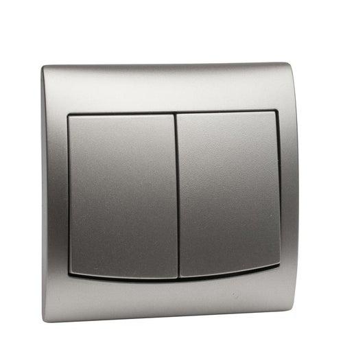 Polmark Vega srebro łącznik podwójny