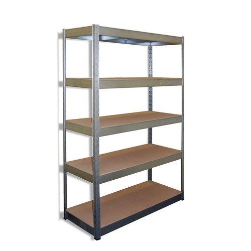 Regał magazynowy Stocker wym. 180x120x45 cm, 5 półek, 250 kg