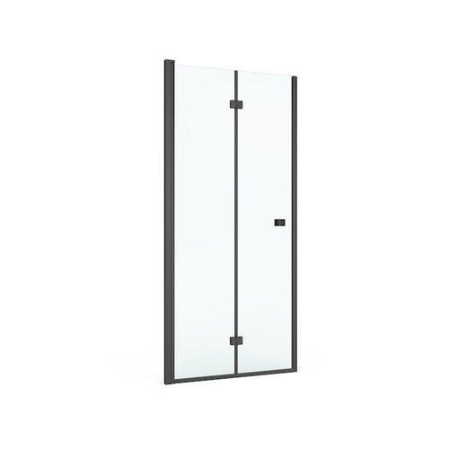 Drzwi prysznicowe Roca Capital Black 80x195  cm AM4508016M